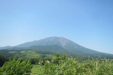 威風堂々した岩手山の全景はなかなか見れません。