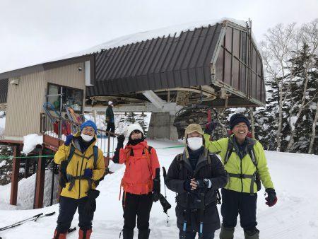 2021年最初のツアーは、雪に覆われた西吾妻連峰スノーモンスターをめぐってきました‼︎