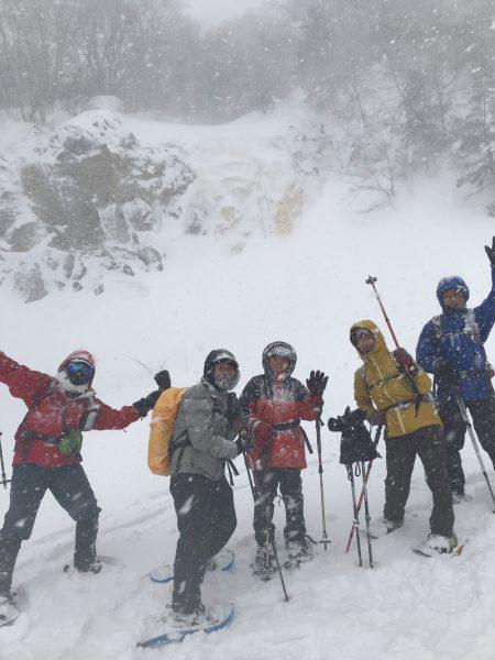 雪山デビュー‼︎  裏磐梯エリアの雪原を歩く体感ツアーでした。