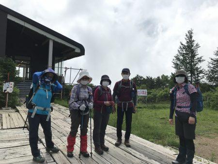 雄大な安達太良連峰の魅力をじゅうぶんに堪能できた縦走ツアーとなりました。